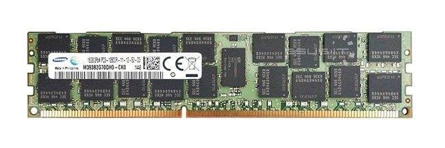 Memory RAM 1x 16GB Samsung ECC REGISTERED DDR3  1600MHz PC3-12800 RDIMM | M393B2G70QH0-CK0