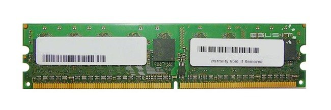 Memory RAM 1x 2GB Kingston ECC UNBUFFERED DDR2  667MHz PC2-5300 UDIMM   KVR667D2E5/2G