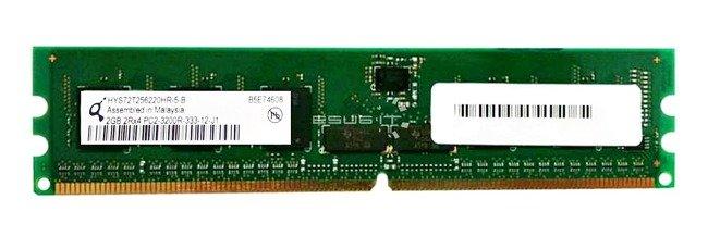 Memory RAM 1x 2GB QIMONDA ECC REGISTERED DDR2  400MHz PC2-3200 RDIMM | HYS72T256220HR-5-A