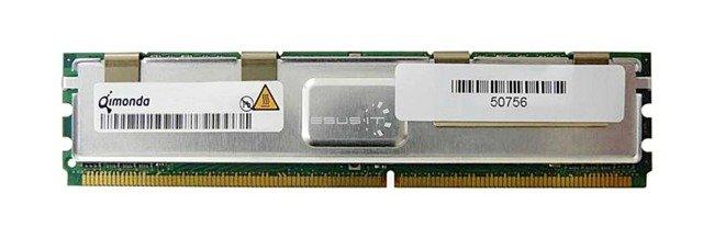 Memory RAM 1x 4GB QIMONDA ECC FULLY BUFFERED DDR2 800MHz PC2-6400 FBDIMM   HYS72T512540RFD-25F-C2