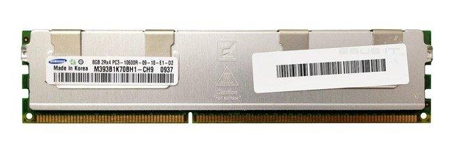 Memory RAM 1x 8GB Samsung ECC REGISTERED DDR3  1333MHz PC3-10600 RDIMM   M393B1K70BH1-CH9